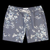 Universal Works - Beach Short in Flower Print Canvas