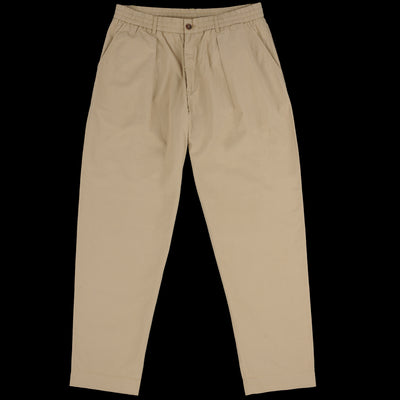 Universal Works - Pleated Track Pant in Sand