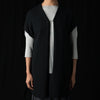 Evam Eva - Cotton Coil Vest in Black