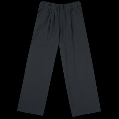 Evam Eva - Cotton Double Gather Pant in North Sea