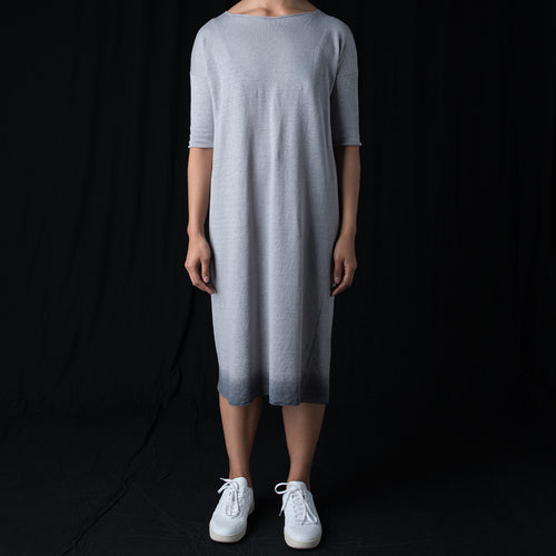 Gradation One Piece Dress in Fog