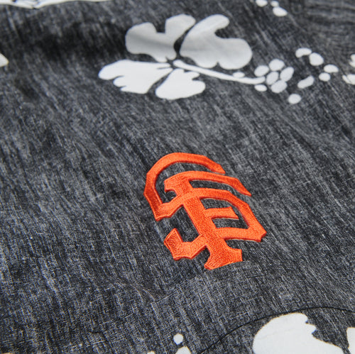 SF Giants 50th State Classic Button Down Shirt in Black