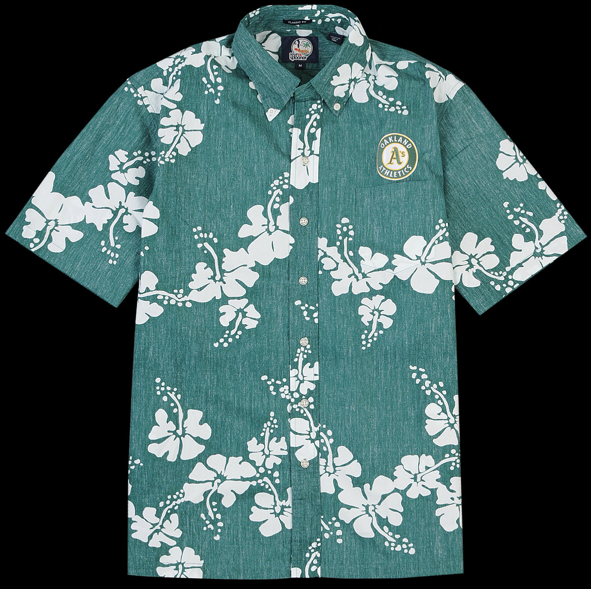 9593c9859 Reyn Spooner - Oakland A's 50th State Classic Button Down Shirt in Green