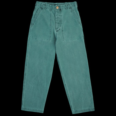 Caron Callahan - Howell Pant in Faded Green Twill
