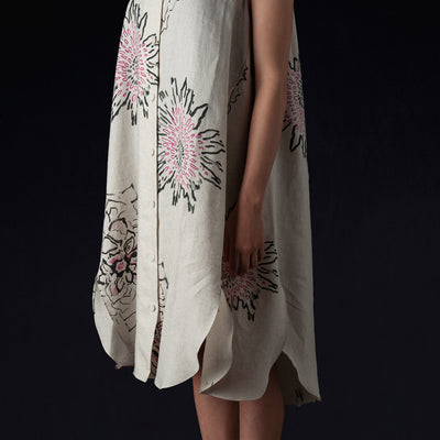 Caron Callahan - Margaret Dress in Positano Linen