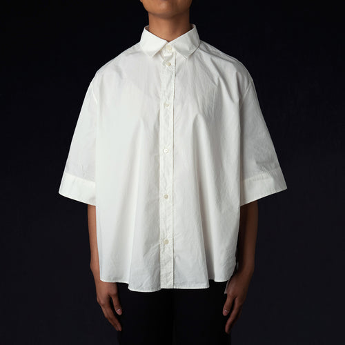 Deco Shirt in Off White