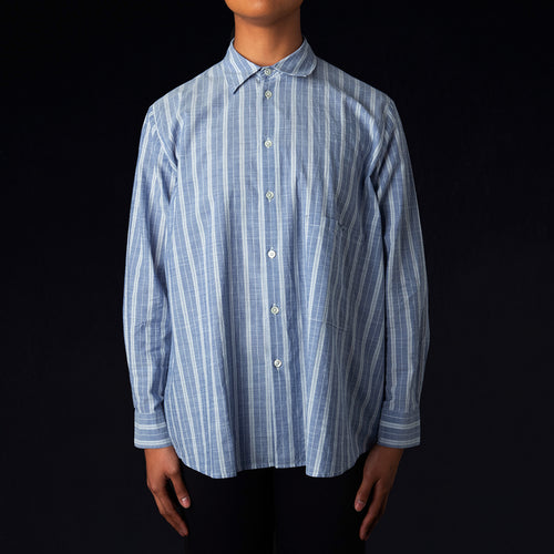 Elma Shirt in Blue Stripe