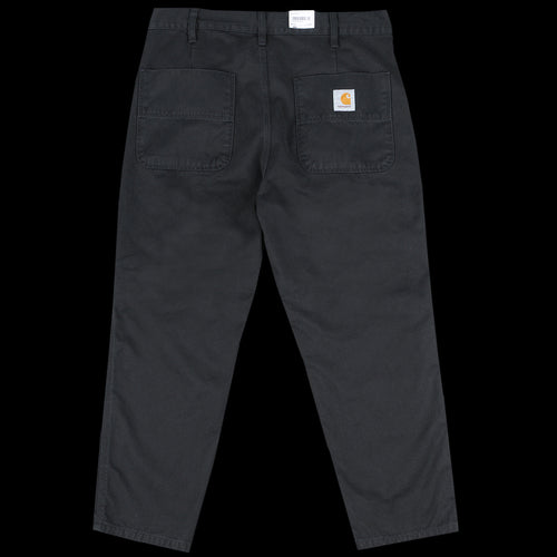 Abbott Pant in Black Millington Twill