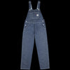 Carhartt WIP - Bib Overall Straight in Jay Denim Blue Rigid