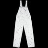 Carhartt WIP - Bib Overall Straight in Off White Paint Splattered Drill