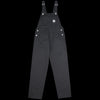 Carhartt WIP - Bib Overall Straight in Black Drill