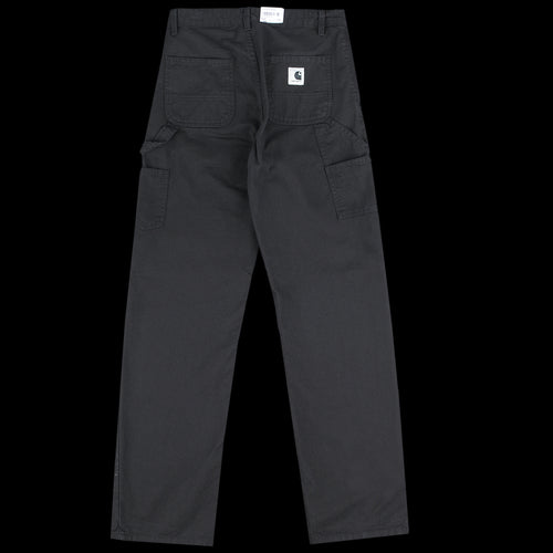 Pierce Pant Straight in Black Drill