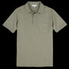 Alex Mill - Rugby Polo in Military Green