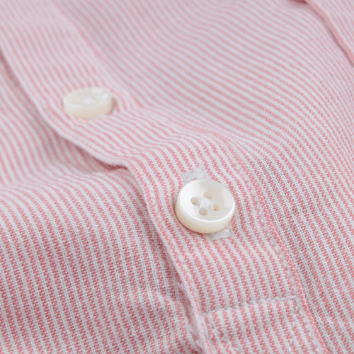 Popover Beach Shirt in Dusty Pink