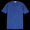 Alex Mill - Standard Cotton Indigo Tee in Dark