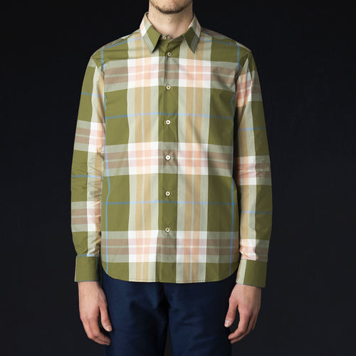Flores Shirt in Bold Check