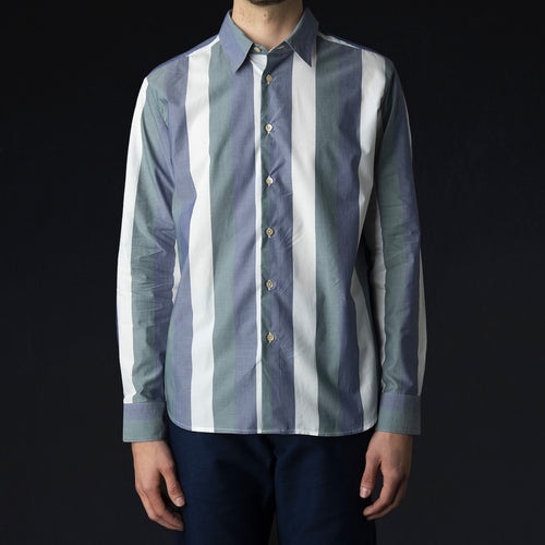 Flores Shirt in Bold Stripe