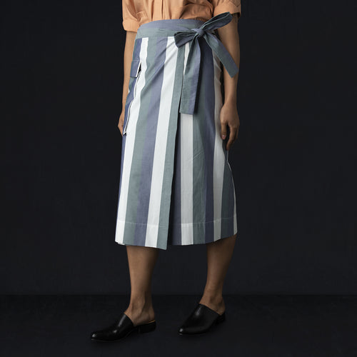 Madura Skirt in Bold Stripes