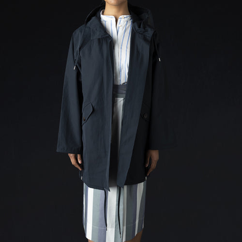 Putu Parka in Navy