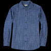 Umber & Ochre - Kabir Sport Shirt in Indigo Plaid