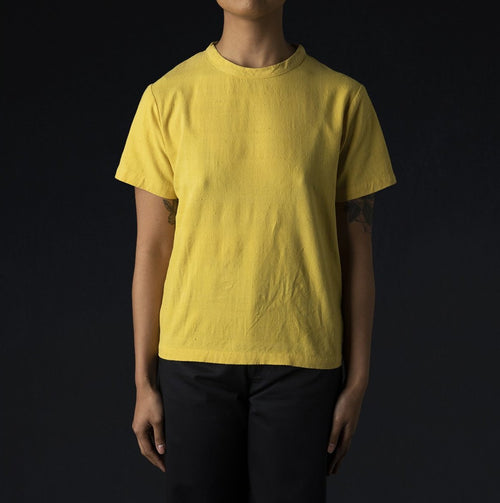 Justice Woven Tee in Corn Yellow