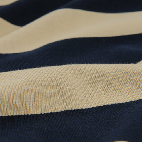 Rugby Stripe Crew Tee in Honey