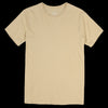 Save Khaki - Supima Crew Tee in Honey