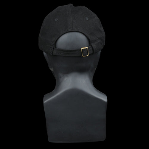 Bulldog Twill Cap in Black