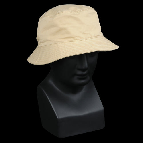 Bulldog Twill Bucket Cap in Honey