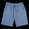 Save Khaki - Heather Fleece Sweatshort in Heather Blue