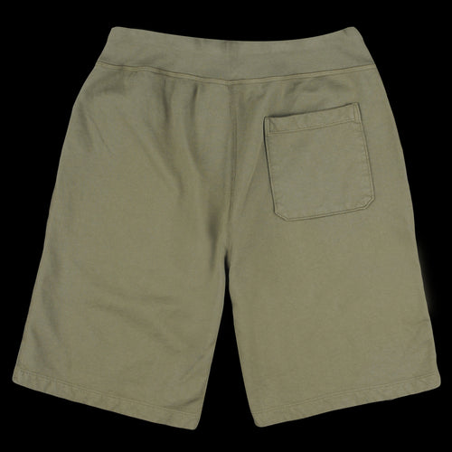 Supima Fleece Sweatshort in Olive