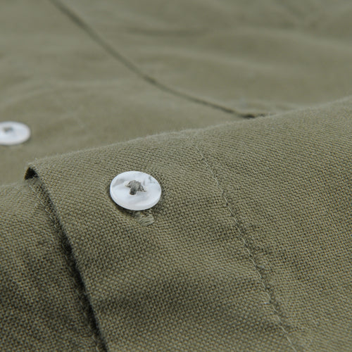 Oxford Full Shirt in Olive