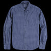 Save Khaki - Gingham Work Shirt in Good Blue