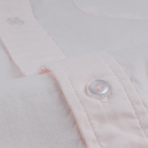 Oxford Button Down Collar Shirt in Pink
