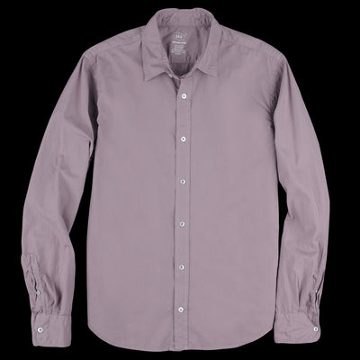 Save Khaki - Poplin Easy Shirt in Plum