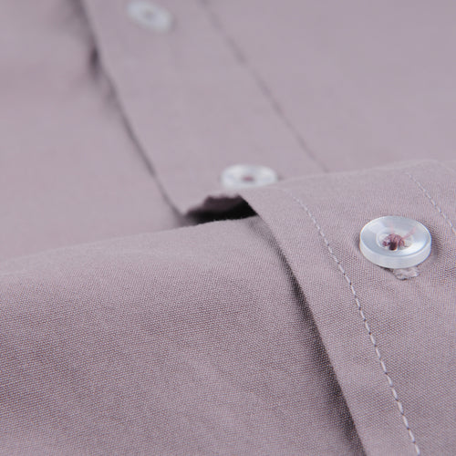 Poplin Easy Shirt in Plum
