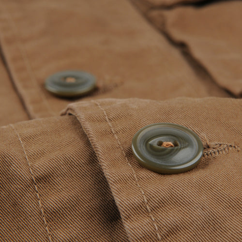 Bulldog Twill Sportsman Jacket in Barley