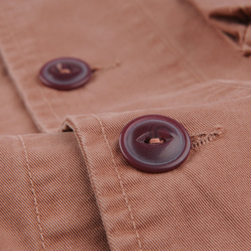 Bulldog Twill Sportsman Jacket in Nutmeg