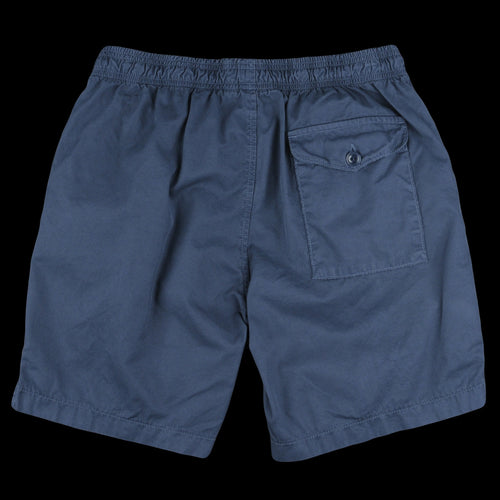 Light Twill Easy Short in Marine