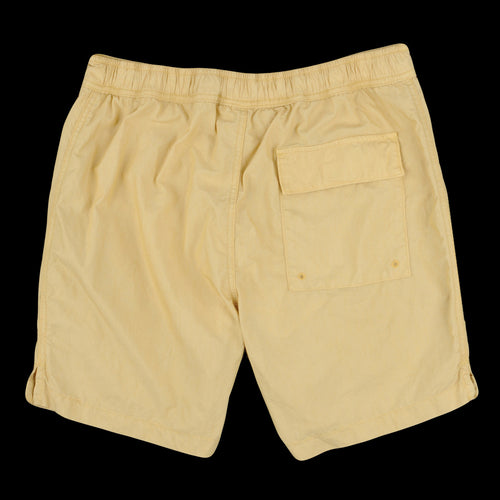 Cotton Nylon Beach Short in Honey