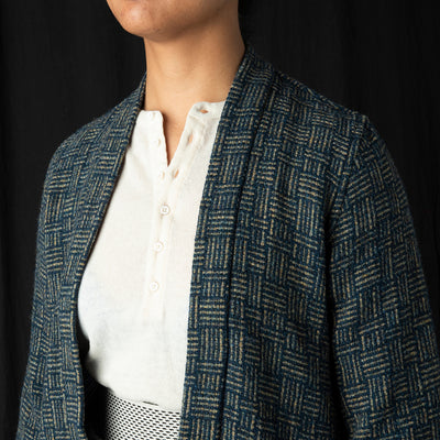 Kapital - JO-MON Tweed SHA-KA Jacket in Blue