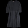 Kapital - Lamb Wool Jersey AURORA Dress in Black