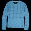 Kapital - DO-GI Sashiko Jersey Crew Long Sleeve Tee in Blue