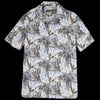Monitaly - Weekend Shirt in Cotton Print Floral Peach