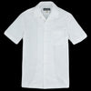 Monitaly - Weekend Shirt in Light Poplin White
