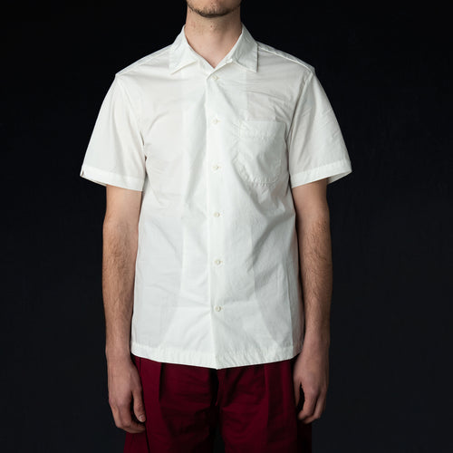 Weekend Shirt in Light Poplin White