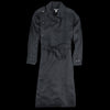 Monitaly - Spring Coat in Light Linen Black