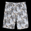 Monitaly - Drop Crotch Short in Cotton Print Floral Peach