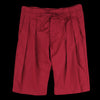 Monitaly - Drop Crotch Short in Vancloth Oxford Maroon