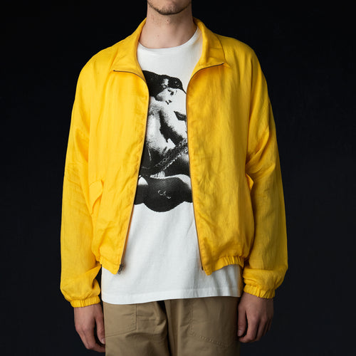 Old Dog Blouson in Light Linen Yellow